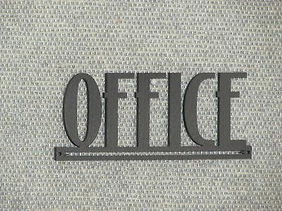 OFFICE Wood Door Word Sign Art Decor Style Wall Hanging](Office Door Decoration)