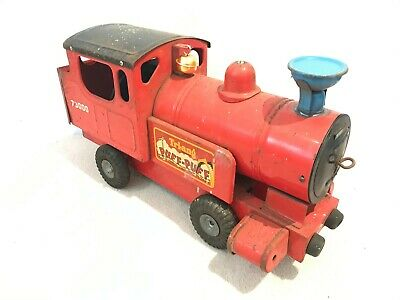 🚂 Vintage 1950s Classic TRI-ANG PUFF-PUFF Large Metal Toy Locomotive Great Gift
