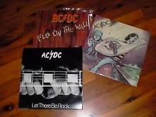 ACDC LPs set of 3 Corowa Corowa Area Preview