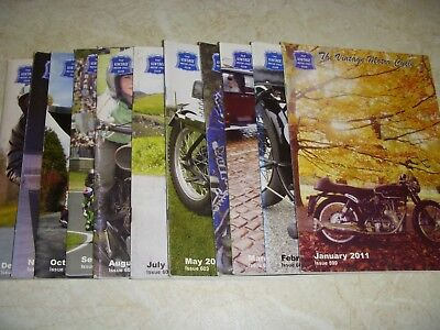 OLD MOTOR CYCLE MAGAZINES 2011 x 11