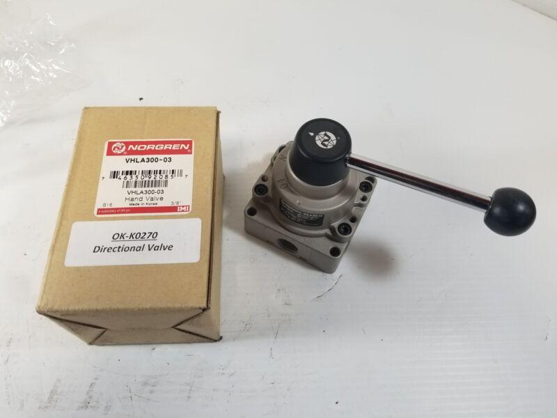 Norgren VHLA300-03 Pneumatic Manual Selector Valve