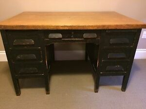 Antique Teacher Desk