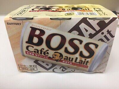 Boss Coffee Cafe Au Lait | 6 Pack Au Lait Coffee