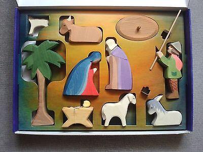 Ostheimer Krippensortiment mit Diorama 60205