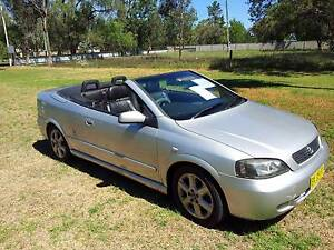 2002 Holden Astra Convertible Londonderry Penrith Area Preview