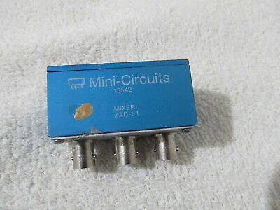 Mini-circuits Mixer Zad-1-1 Rflo Freq 0.1 - 500 Mhz Bnc - Rf