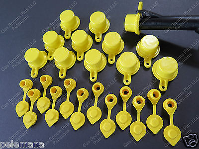 12 Blitz Spout Caps 12 Yellow Gas Can Vents Ships Free Fix Your Blitz Gas Can