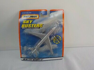 Vintage Matchbox Sky Busters Commercial Airplane Jet American Airlines