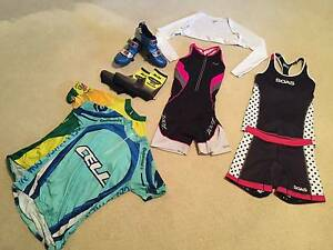 Assorted Triathlon Shoes and Clothing, Womens Size S Mullaloo Joondalup Area Preview