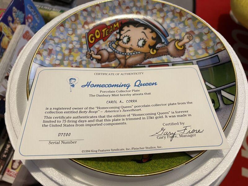 The Danbury Mint - Homecoming  Queen - Betty Boop - America