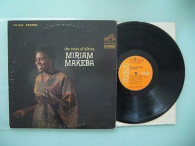 Miriam Makeba – The Voice Of Africa, USA', LP, Vinyl: m-