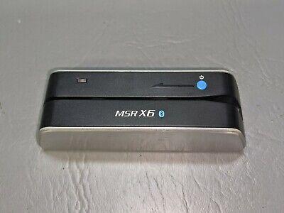 Bluetooth Msr X6bt Magnetic Stripe Credit Card Reader Writer Encoder Msrx6bt Bm