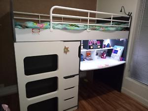 Loft Bed Study Desk Wardrobe All In One Beds Gumtree Australia