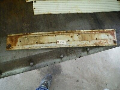 Ih Farmall 706 Tractor Right Engine Side Panel 103