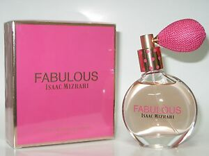 Isaac Mizrahi Fabulous Eau De Parfum Spray Women 1.7 oz / 50ml NIB Sealed Issac