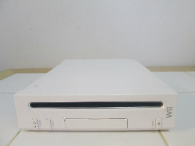 (Nintendo Wii (Replacement) System Console Only White Gamecube Compatible Work)