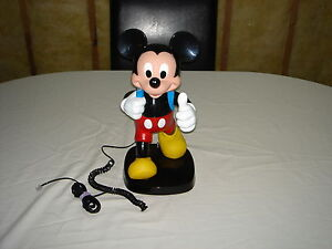 Mickey Mouse Back Pack phone-WORKS!