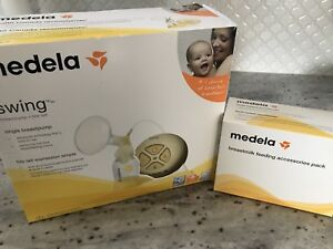 """Brand new never used""  Medela Swing Breast Pump"