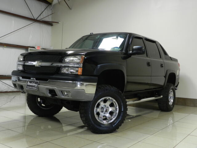 Custom Chevrolet Avalanche 1500 4x4 Lifted Leather Seats
