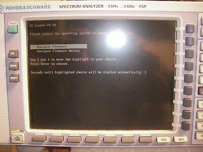 Rohde Schwarz Fsp 3 9khz - 3ghz Spectrum Analyzer