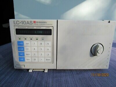 Pump Shimadzu Hplc Uplc Lc-10as Lc-10 As Chromatography Lc Guaranteed