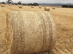 Oaten Hay Round Bales Lara Outer Geelong Preview