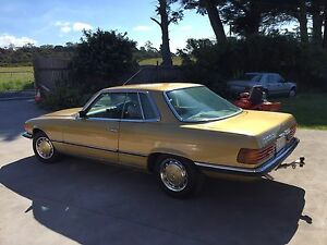 Mercedes 350SLC Clarence Point West Tamar Preview