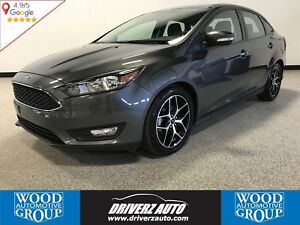 2017 Ford Focus SEL REARVIEW CAMERA, PARKING SENSORS, HEATED...