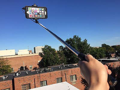 EXTENDABLE HANDHELD SELFIE STICK MONOPOD FOR IPHONE 6 6S 5S 5C 5 6 profit 6s plus