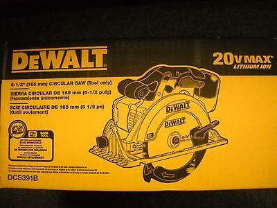 """Dewalt DCS391B 20V 6-1/2"""" Cordless Circular Saw 20 volt NEW Tool"""