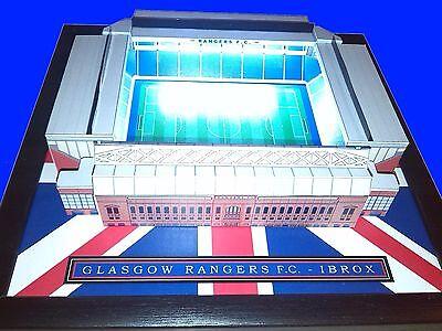 Personalisiert Mini Fußballstadion mit Working Lichter