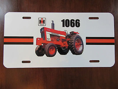 Ih 1066 Open Station License Plate