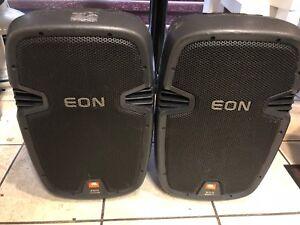 Pair of jbl 500 eon