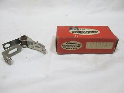 New Vintage Fairbanks-morse Magneto Distributor Contact Points D2437a