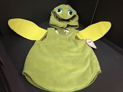 3-6 Months Pottery Barn Kids Baby SEA TURTLE COSTUME Halloween Infant Ocean NEW