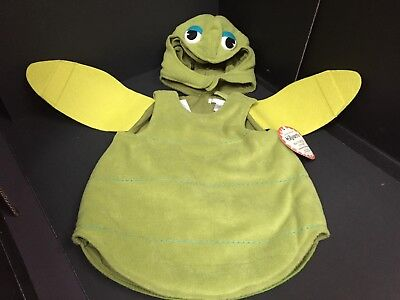 3-6 Months Pottery Barn Kids Baby SEA TURTLE COSTUME Halloween Infant Ocean NEW  - Sea Turtle Halloween Costume