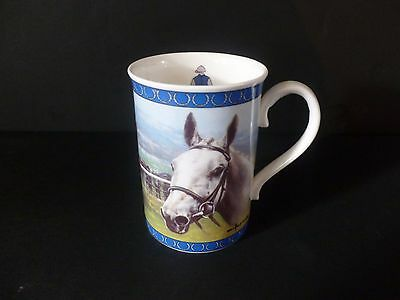 "Danbury Mint Racing Legends Collector Mug ""Desert Orchid"""