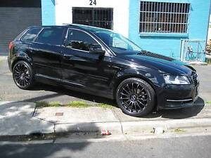 2011 AUDI A3 TDI WAGON 109,000 KLMS LEATHER/TWIN SUNROOFS BLACK Heidelberg Heights Banyule Area Preview