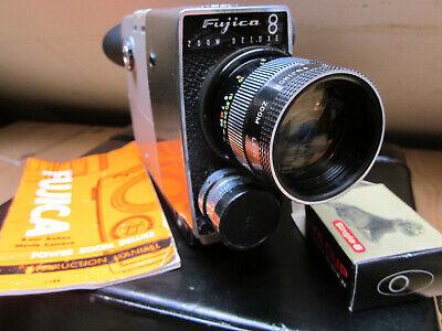 Fujica Zoom Deluxe 8 Single 8mm Camera
