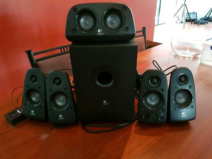 Logitech Speakers - 6 speaker set including subwoofer