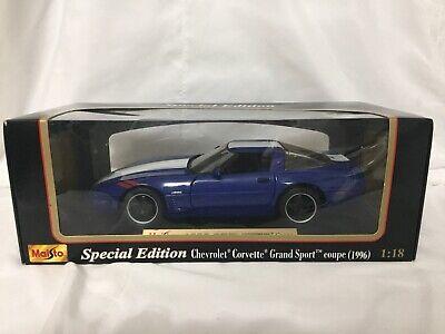 1/18 Maisto Special Edition: 1996 Chevrolet Corvette Coup Grand Sport
