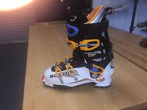 Scarpa Maestrale RS Ski Boot Hughes Woden Valley Preview