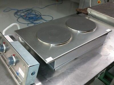 Wells H-706 Stainless Steel Built-in Electric Countertop Hot Plate