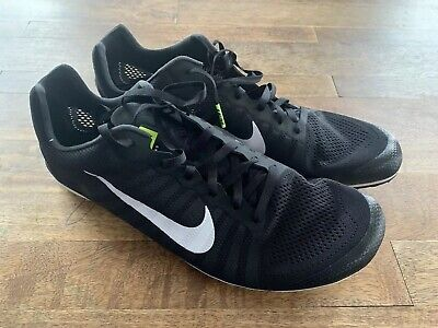 pretty nice 7d47d 1afe5 Nike Zoom D Distance Track Spikes Men s Black Sz 13 819164-017 New, No  Spikes