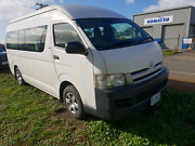 2006 Toyota hiace commuter diesel manual 11 seater Cambridge Clarence Area Preview