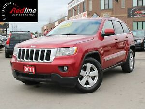 2011 Jeep Grand Cherokee 4X4 Laredo Latitude Leather-Camera-Blue