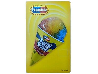 Popsicle Snow Cone Ices Ice Cream Truck Decal Sticker