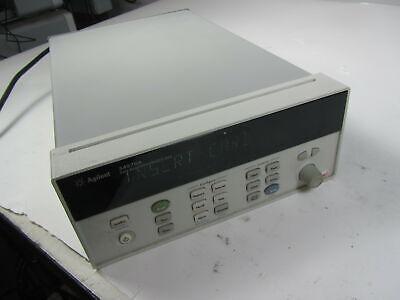 Agilent 34970a Data Acquisitiondata Logger Switch Unit No Modules Power Tested