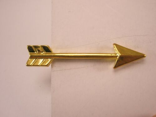-Directional Arrow Pointer Vintage Tie Bar Clip