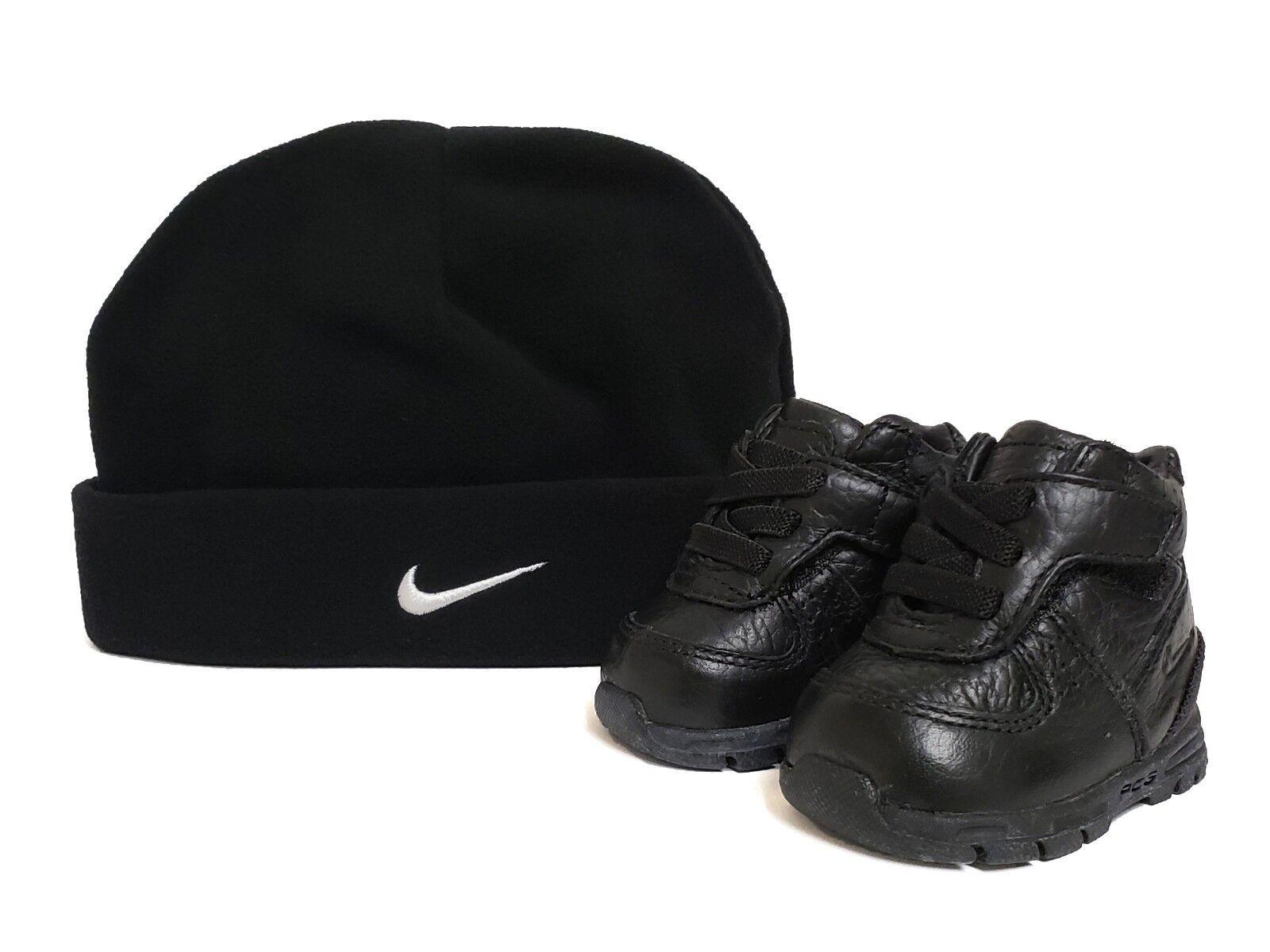 Nike Infant & Toddler FIRST GOADOME GP(CB) Shoes Black 313939-002 a10